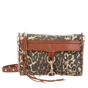 Rebecca Minkoff Leopard print leather crossbody